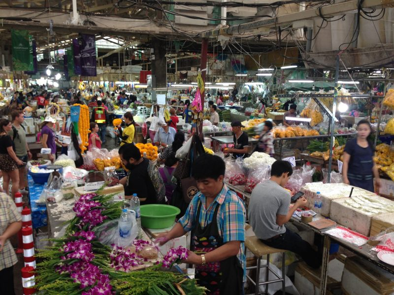 Bedste marked i Bangkok er Chatuchak weekend market
