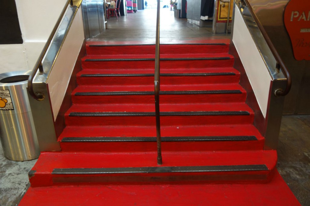 Red carpet Grand Central Market