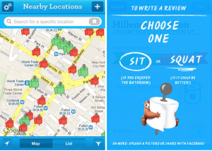 Sit or Squat App by Charmin