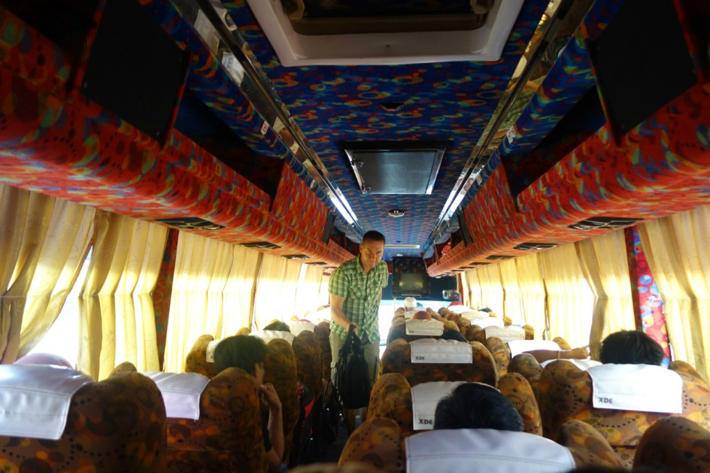 Ombordstigning i lokalbussen