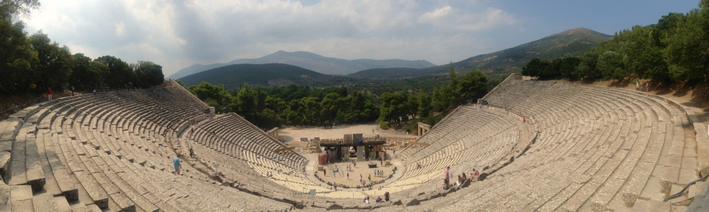 Friluftsteatret i Epidauros