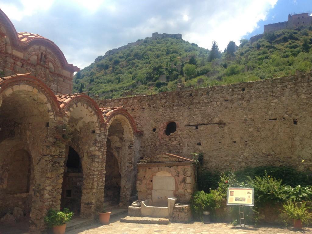 Pantanassa's Monastery at Mystra