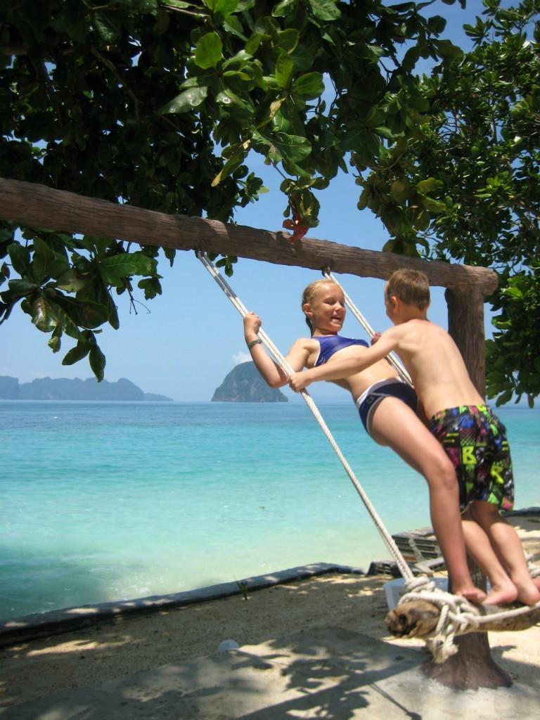 Ynglingsgyngen på Koh Ngai Resort