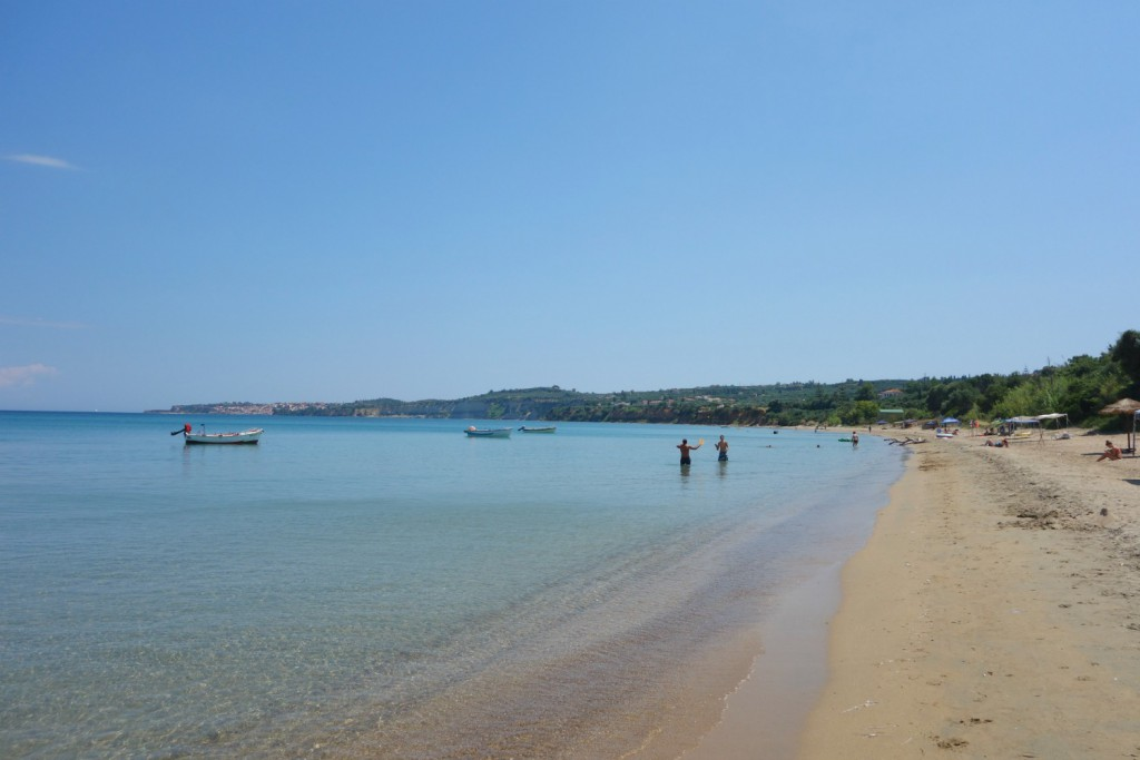 Peroulia Beach