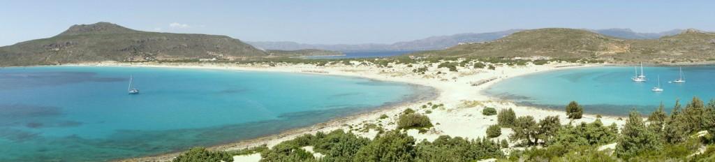 Simos beach på Elafonisos