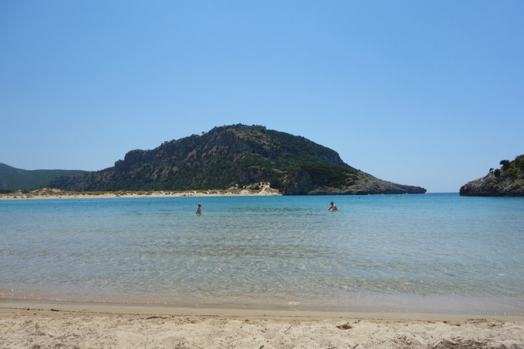 Voidokilia Beach i Messinia