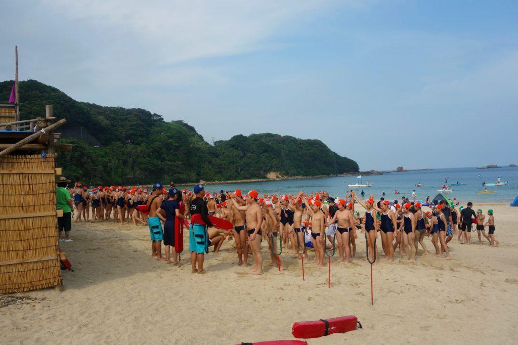 Japansk sommer skoleklasser