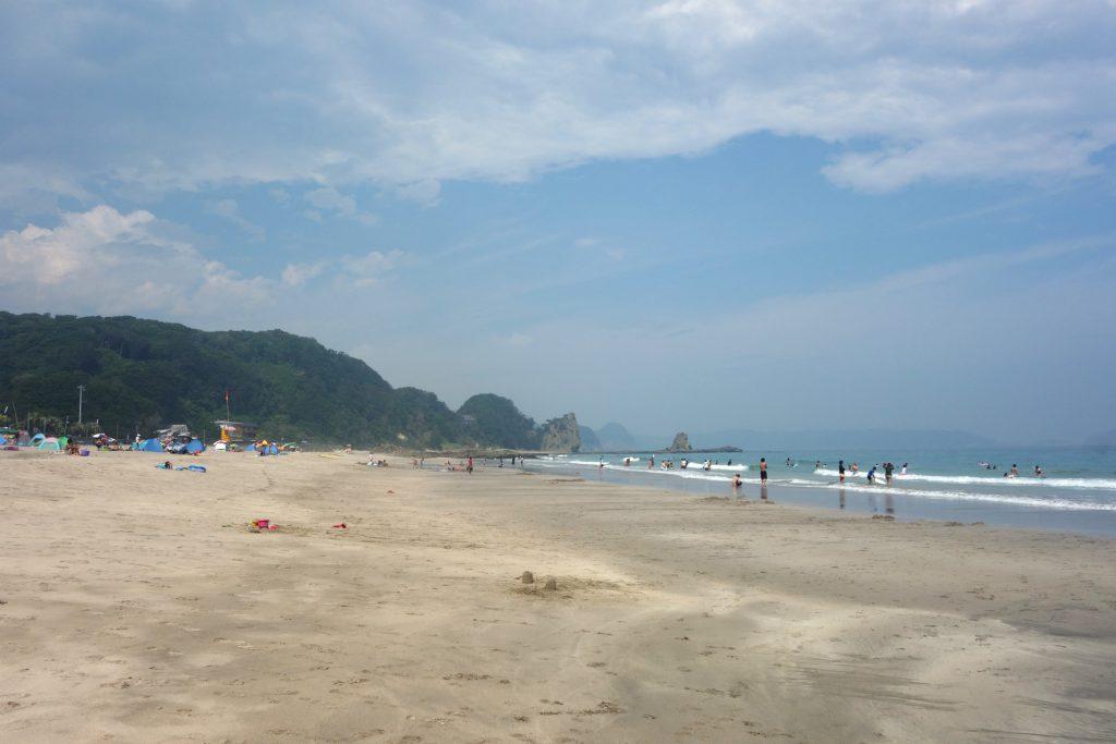 Kisami Ohama Beach en god strand i Japan