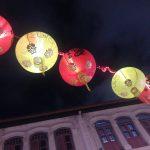 Gadebelysning i Chinatown