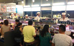 Der er travlt hos sushi kokkene