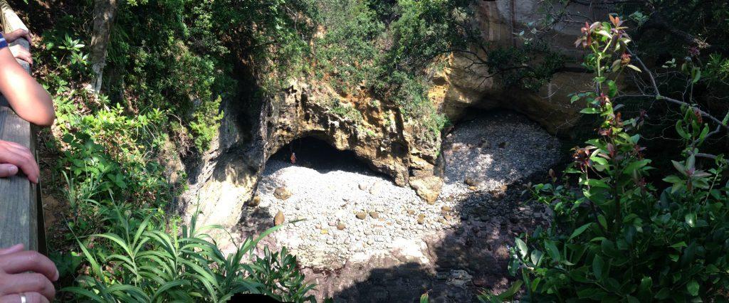Hjerteformet Ryugu grotte