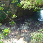 Kig ned i Ryugu grotten
