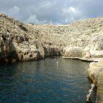 Blue Grotto svømme område
