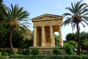 Den smukke Lower Barrakka Gardens