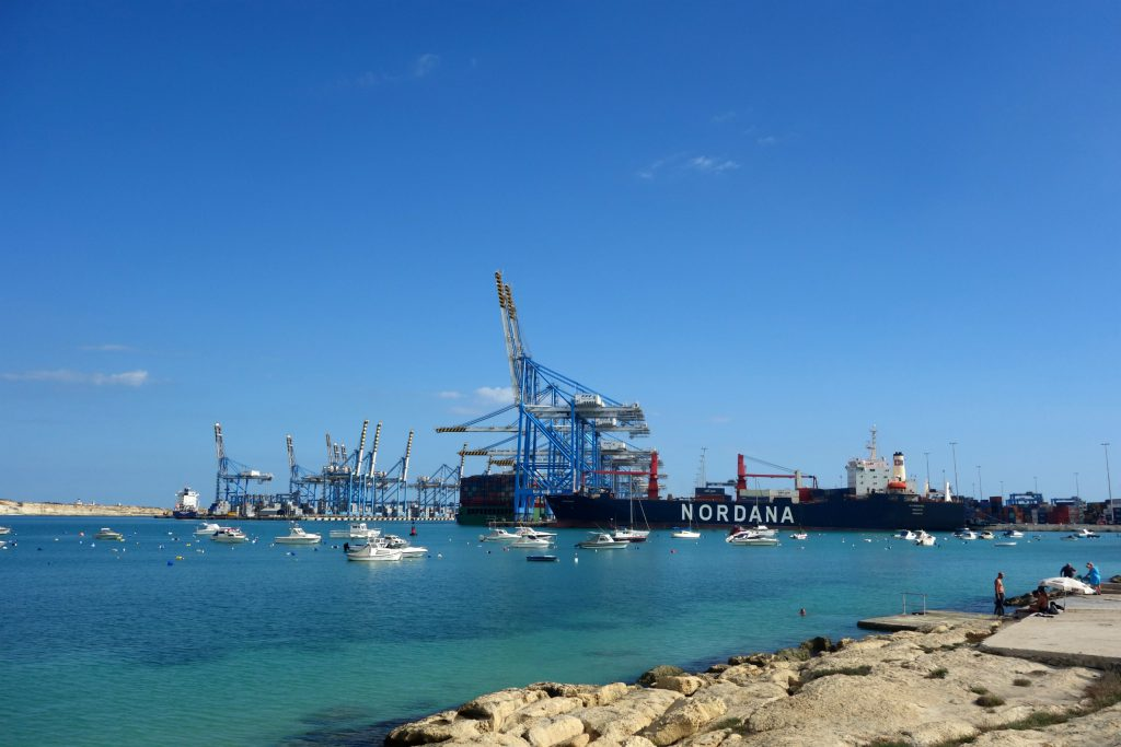 Freeport of Malta og Playa Birzebbugia