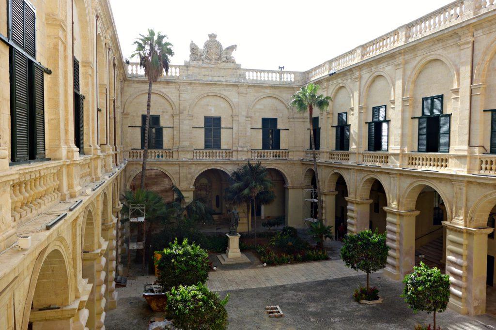 Grandmaster Palace Courtyard