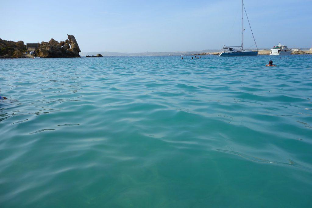 Paradise Bay flotte blå vand