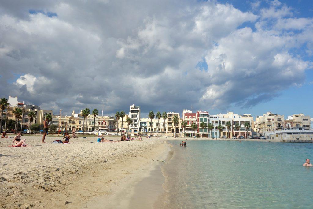 Playa Birzebbugia på Malta