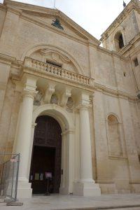 Indgangen til St. Johns co cathedral
