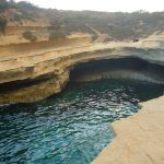 St Peters Pool strande på Malta