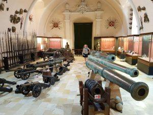 The Palace Armoury i Valletta