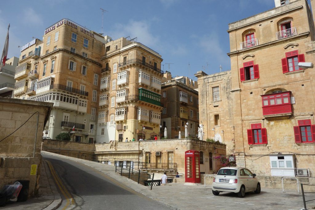 Valletta's midtby