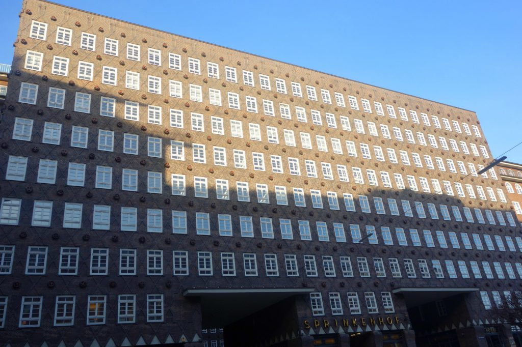 Sprinkenhof i Hamburg