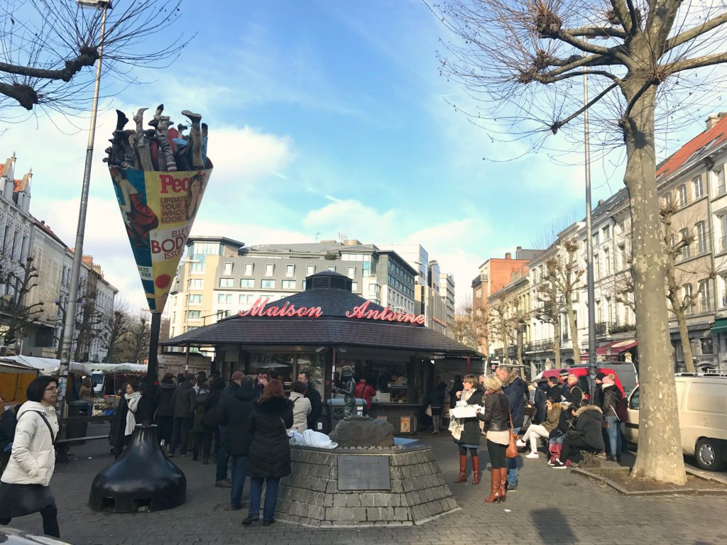 Bruxelles bedste pommes frites hos Maison Antoine