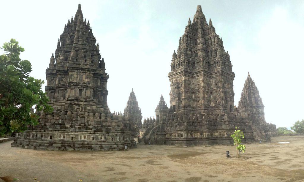 Prambanan Temple in Indonesien