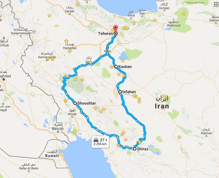 Påskeferien går til Iran
