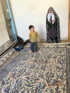 Smukt Nain carpet til salg