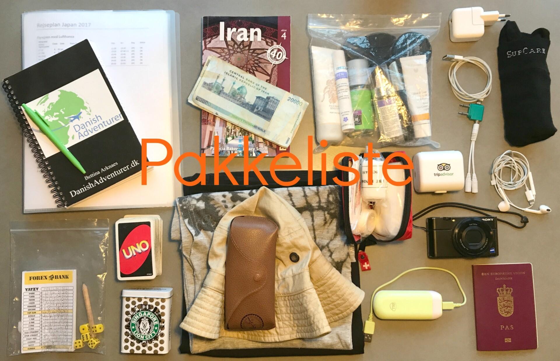 Pakkeliste: Hvad skal du medbringe ombord i kabinen til en flyrejse