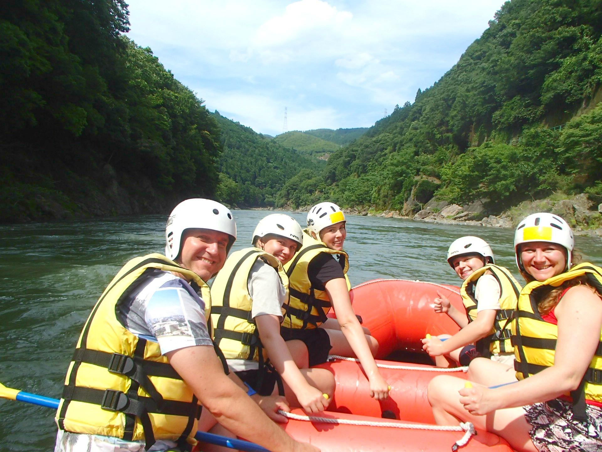 Rafting udflugt i Kyoto