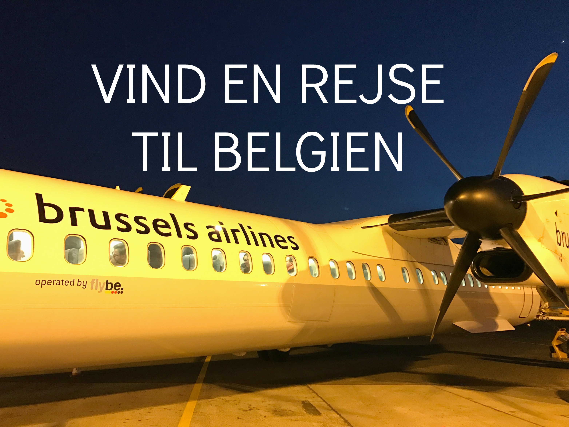 VIND en rejse til Belgien med Hi Belgium Pass (SLUT)