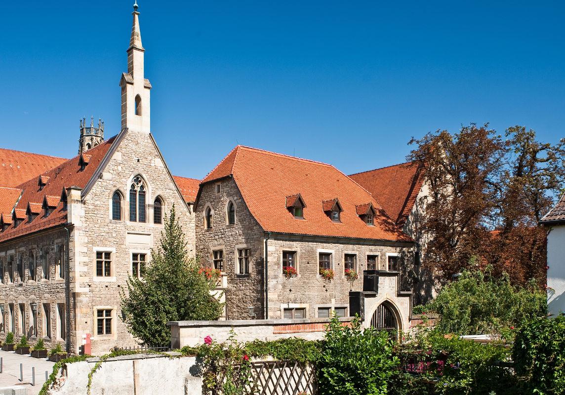I seng med Martin Luther i et gammelt Augustinerkloster