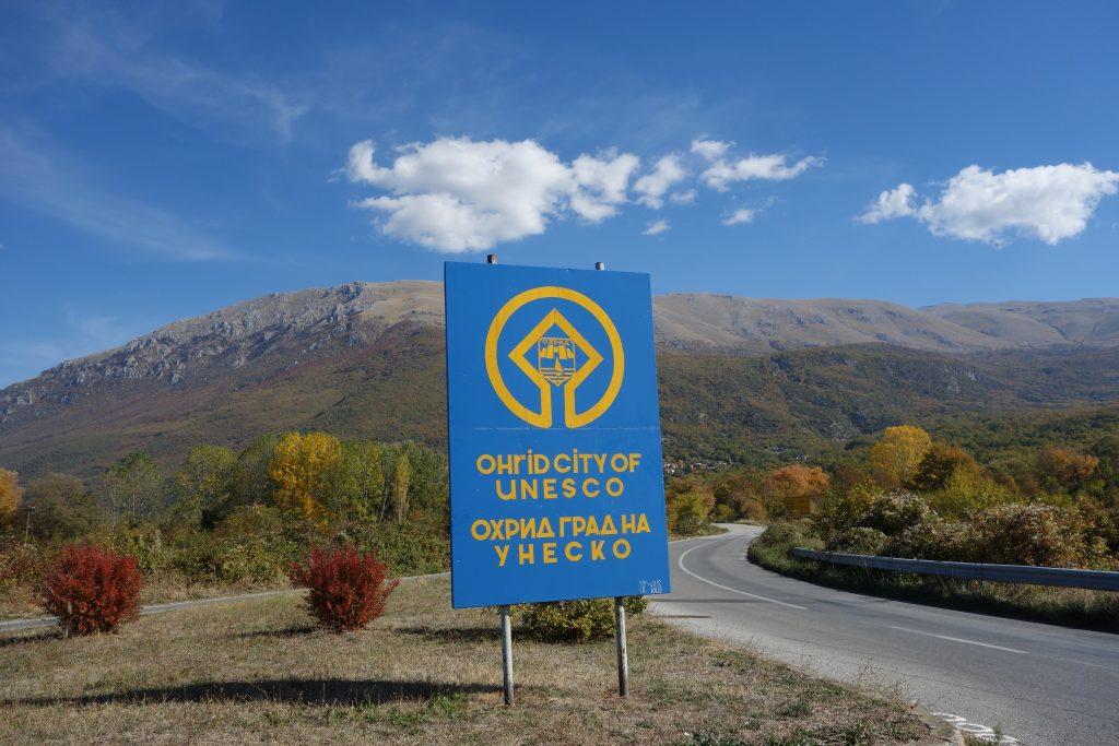 Ohrid regionen