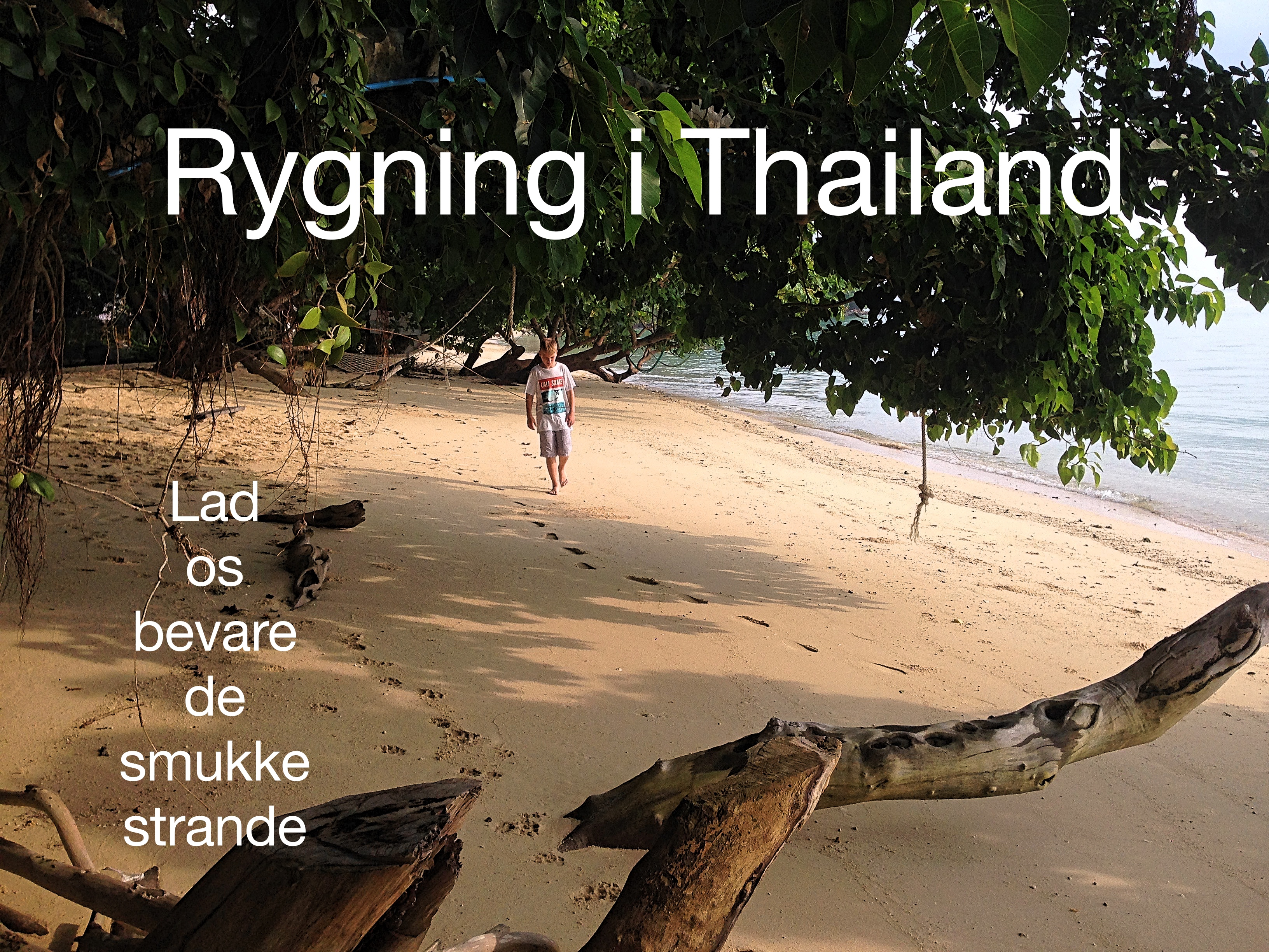 Rygning i Thailand – her er det forbudt at ryge på stranden