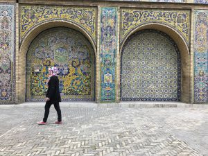 Smuk mosaik i Golestan Palace