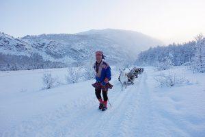Vinter i Nordlysbyen Alta