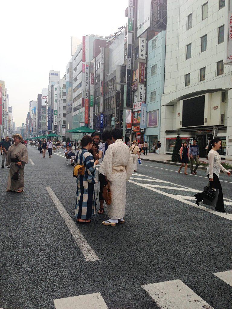 Ginza walking street