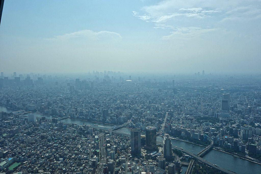 Udsigt fra Skytree