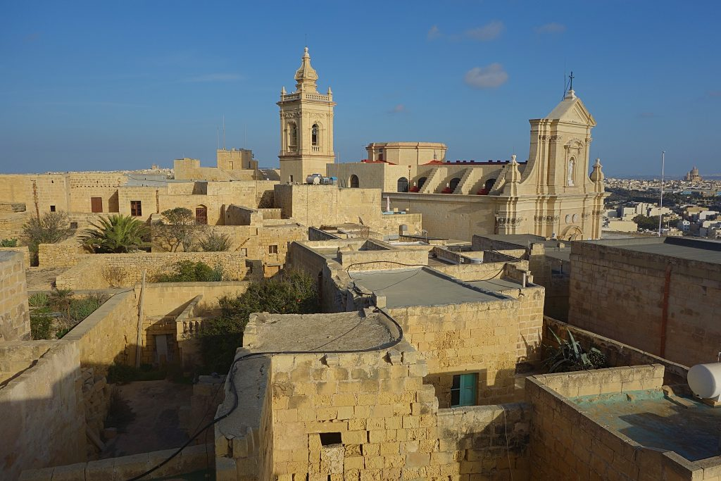 Cittadella i byen Rabat