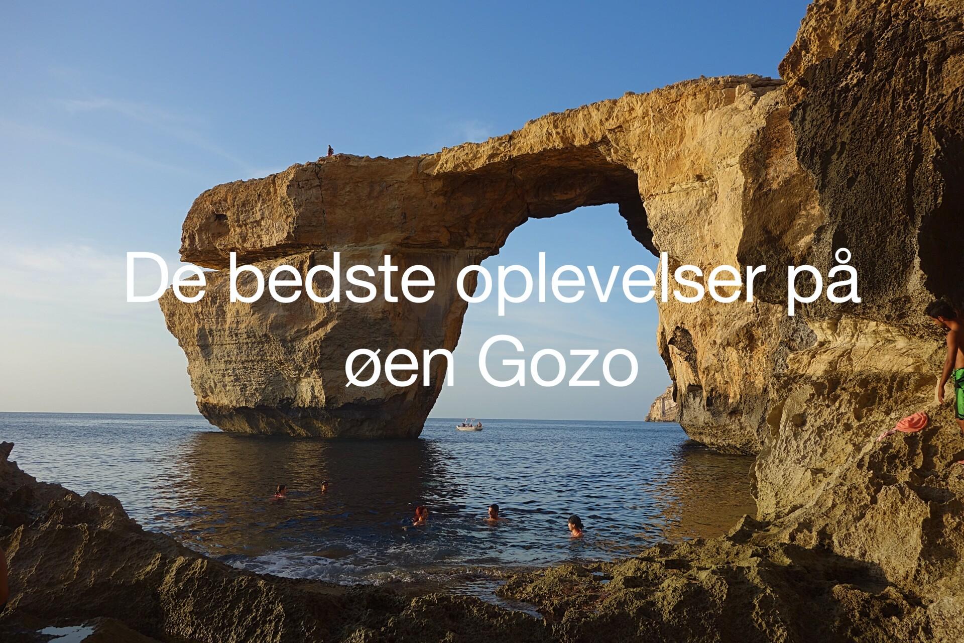 De bedste oplevelser på Gozo på en dagsudflugt fra Malta