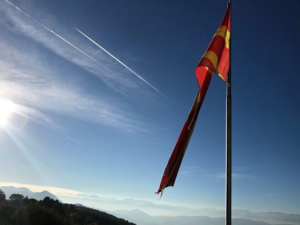 udsigten fra Vodno bjerget