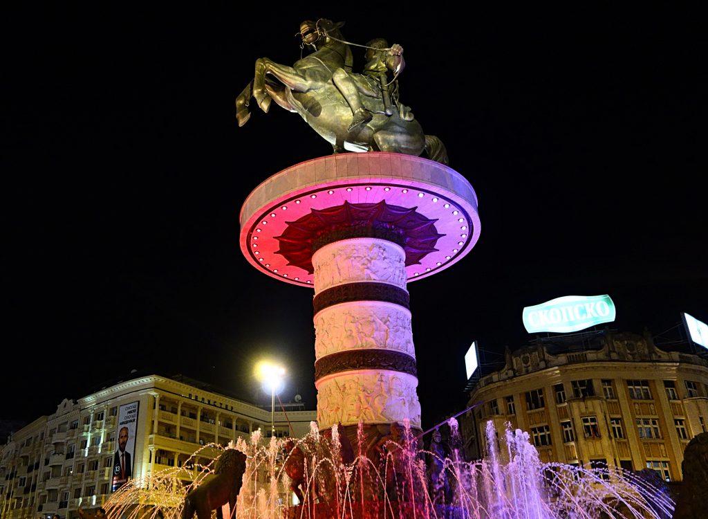 Alexander den store om aftenen