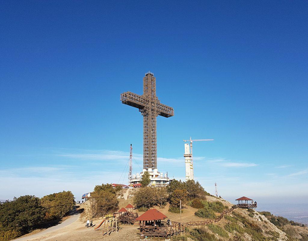 Millennium Cross i Skopje