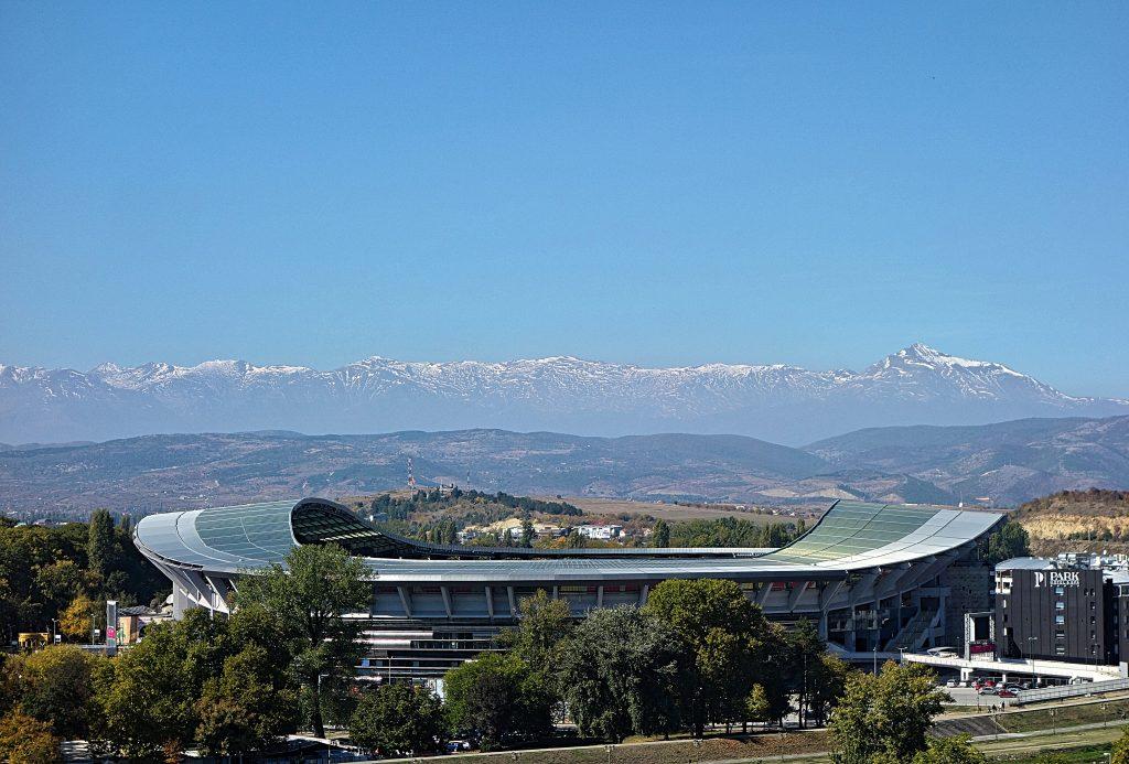Skopje Stadium i Makedonien