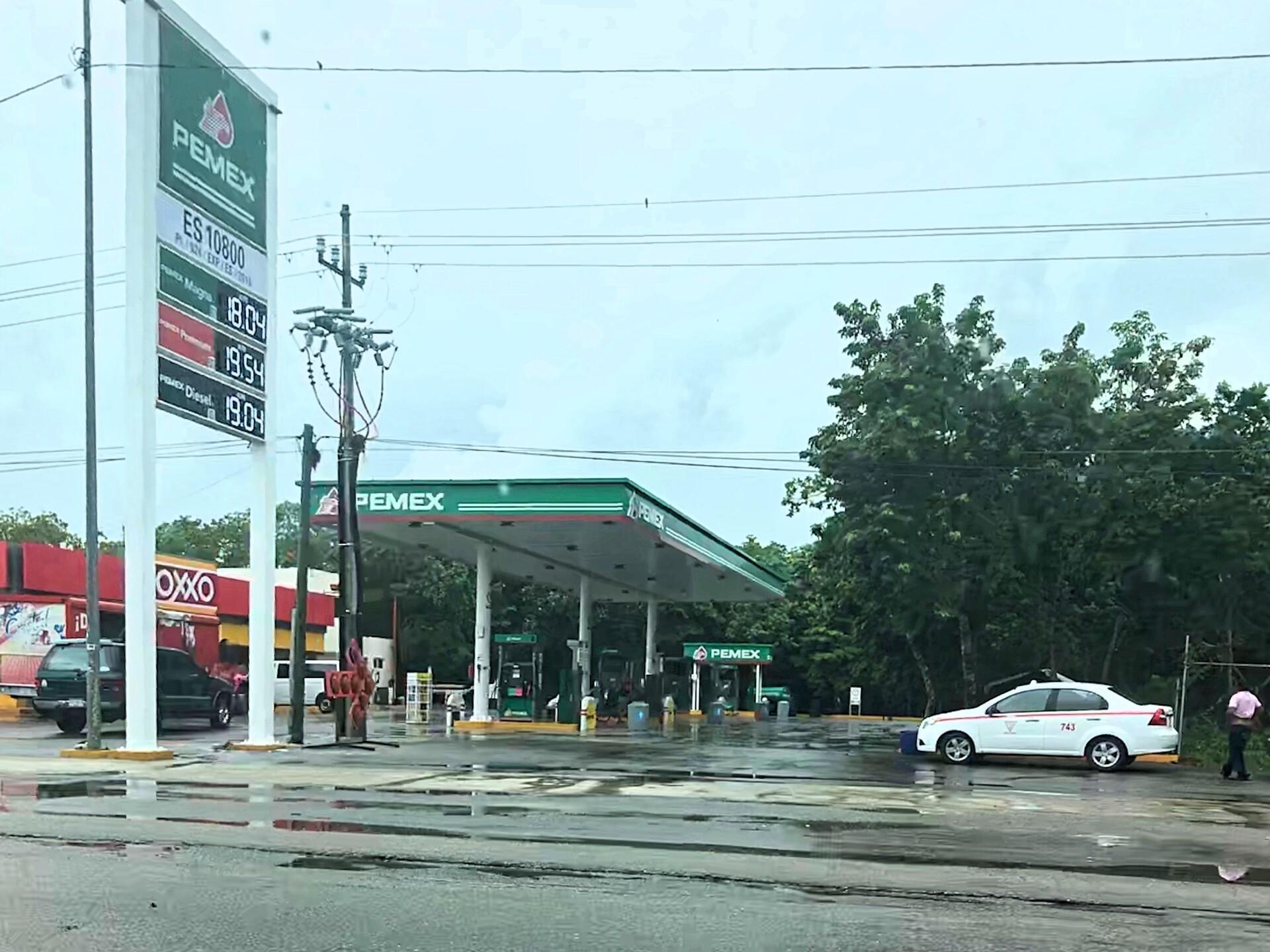 Fuppet på Pemex tankstation i Tulum – Turist scam i Mexico