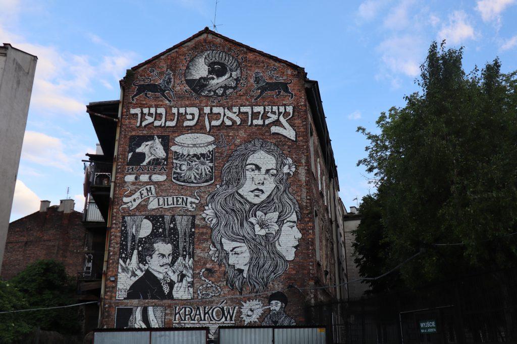Grafitti i Krakow