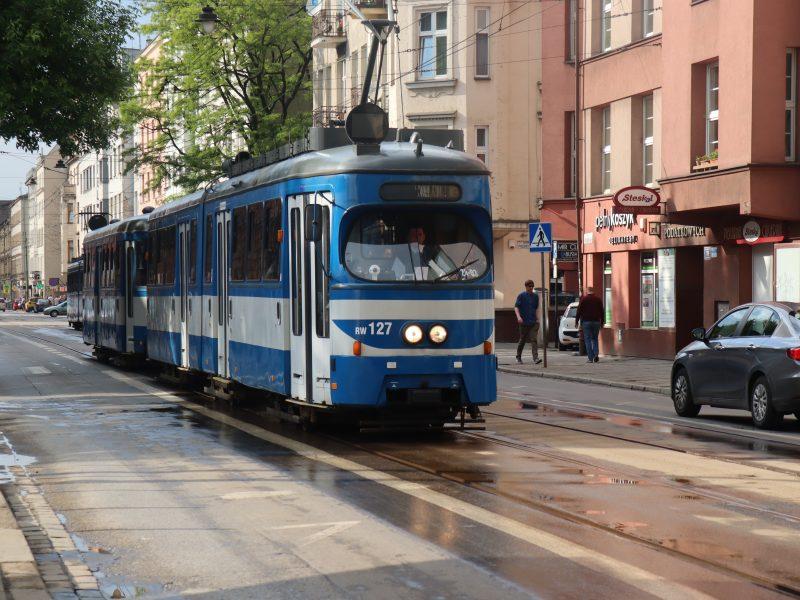 Offentlig transport og billig taxi i Krakow